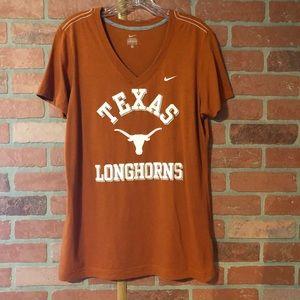 Women's Texas Longhorn V-Neck Tee - XL